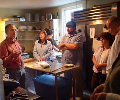 Charlie Papazian leads the Art and Science of Beer course at Whitehead Light Station