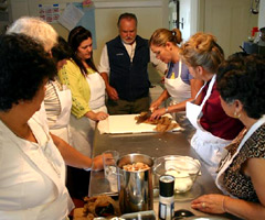 Daisy Martinez leads the Cooking With Daisy course at Whitehead Light Station